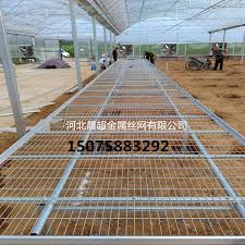 Metal Greenhouse Benches Greenhouse Rolling Benches Chenchao Wire Mesh