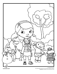 Doc Mcstuffins Coloring Pages Woo Jr Kids Activities Disney Junior Coloring Sheets And Activity Sheets