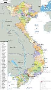 World Map Vietnam by Vietnam Map