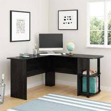 Mainstays Glass Top Desk by Desks Home Office Furniture The Home Depot