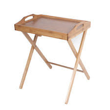 Dinner Tray Tables Bamboo Tv Tray Tables Ebay