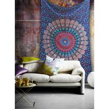 Bedroom Tapestry Indian Wall Bedroom by Mandala