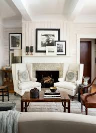 beautiful frames in a fabulous cozy living room space fireplace