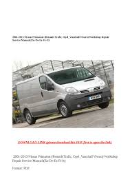 renault trafic workshop repair manual 28 images renault trafic