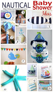 Nautical Baby Shower Decorations 12 Nautical Baby Shower Ideas The Inspiration Party By