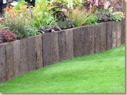 Railway Sleepers Garden Ideas Front Yard Ideas Garden Designs Railway Sleepers