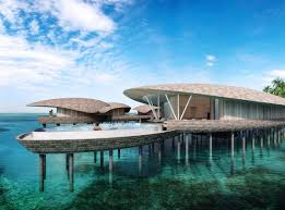 over water iridium spa at upcoming st regis maldives to feature