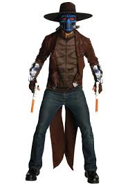 star wars kids halloween costumes mens cad bane deluxe costume clone wars halloween costumes