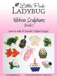 ladybug ribbon pink ladybug brilliant bowmaker templates