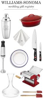 wedding gift kitchen williams sonoma wedding registry for foodies junebug weddings