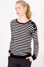 black and white striped blouse black and white striped blouse with velvet details designer size