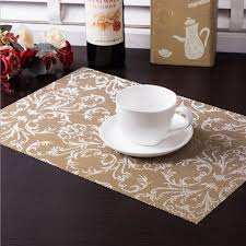 Online Buy Wholesale Placemats Restaurants From China Placemats - Dining room table placemats