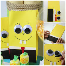 your child will be amazed by these spongebob crafts and diy party