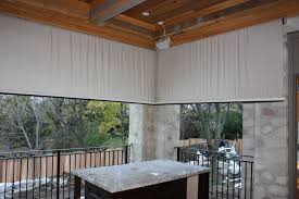 Motorized Outdoor Blinds Motorized Outdoor Blinds And Sunscreens In Vaughan