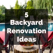 Backyard Renovation Ideas Pictures Backyard Remodel Ideas America S Swimming Pool Company