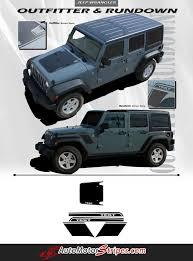jeep wrangler graphics 2007 2017 jeep wrangler stripes vinyl graphics decals series