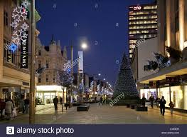 middlesbrough cleveland uk christmas decorations at binns corner