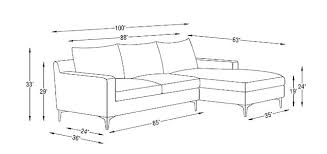sofa dimensions standard sectional sofa dimensions dynamicpeople club