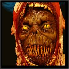 coulrophobia zombie clown mask mad about horror