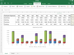 Spreadsheet Microsoft Excel Excel For Ipad The Macworld Review