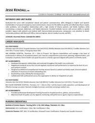 geriatric care nurse resume icu nurse resume designsid com