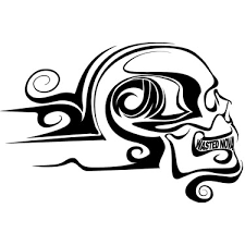 wasted s tribal skull