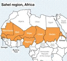 Map Of Mali Africa by Sahel Region Africa