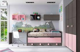 lit chambre fille cuisine chambre enfant avec lit mezzanine design pact so