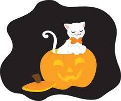cute cat halloween clipart clipartxtras