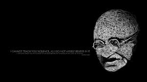self believe mahatma gandhi famous quotes images hd wallpapers