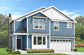two story craftsman house plan