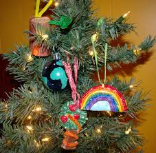 advent at our house our semi tree ornaments i