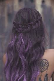 weave hairstyles with purple tips 43 amazing dark purple hair balayage ombre violet style easily