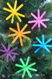 craft handmade decorations ornaments neon popsicle