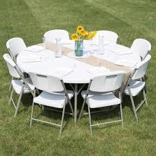 six foot folding table