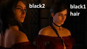 yennefer new makeup and hair at the witcher 3 nexus mods and