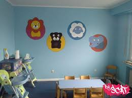 fresque murale chambre bébé byscat fresques et décorations personnalisées
