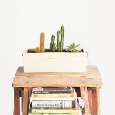 Modern Wood Planter by Oitenta Modern Wooden Wall Hanging Planter Juby Store
