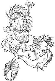 92 best coloriages chevaux et licornes images on pinterest