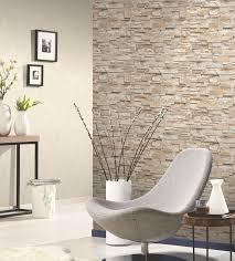 steintapete beige wohnzimmer wohndesign schönes moderne dekoration stein tapete wohnzimmer