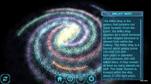Galaxy Map Milky Way Galaxy Map 3d Image Gallery Hcpr