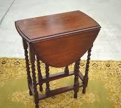 antique drop leaf gate leg table antique small petite oval barley twist drop leaf gate leg table end