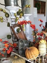 Fall Table Decorations by Fall Farmouse Table Decor