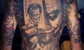 7 villainously awesome joker tattoos tattoo com