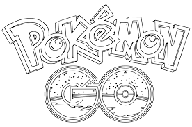 pokemon go coloring pages getcoloringpages com