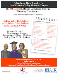 5th annual college planning conference san fernando valley