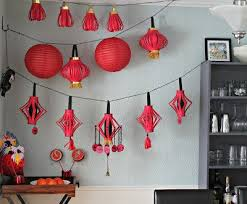 New Year Room Decoration Ideas by Best 25 Chinese Decorations Ideas On Pinterest Chinese Crafts