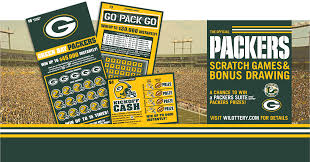Green Bay Packer Flag Green Bay Packers Scratch Tickets