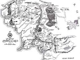 a map of middle earth paint a map of middle earth on your wall with zero skill