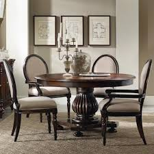 round pedestal dining table set